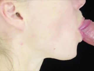 Compilation sperm in anna's mouth